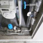 パイプスペース内水道メーター