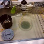 キッチン詰まり画像
