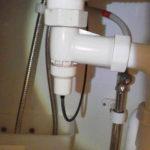 洗面台収納スペース内