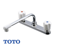 TOTO|台所バルブ式混合水栓