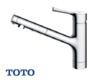 TOTO|キッチンワンホールシャワー式混合水栓